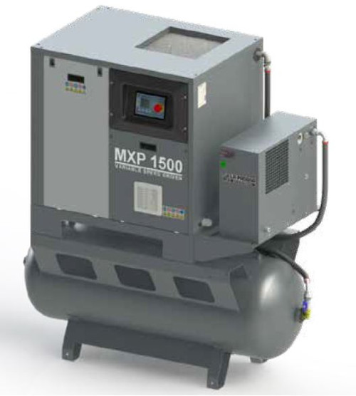 Industrial Screw Compressor 10Hp 1050 Lt/min (MXP1000-270E/8)