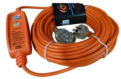 20 Metre Extension Lead with Built-In RCD Safety Switch 15Amp (125 85.804.005)