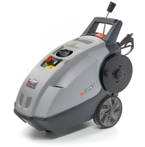 Hot Pressure Washer Comet Scout 2175psi @ 9 Lt/m with built in Reel (107 SCOUT150 E)