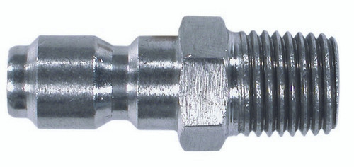 """Quick Connect Plug - 3/8"""" Npt Male Stainless Steel (125 85.300.105S)"""