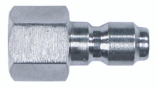 "Quick Connect 3/8"" Plug - 3/8"" Npt Female H Steel (125 85.300.104H)"