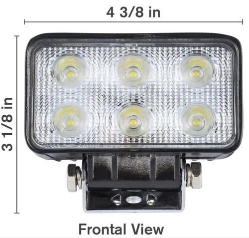 18W LED Flood Light - 1200 Lumens (125 LF1801)