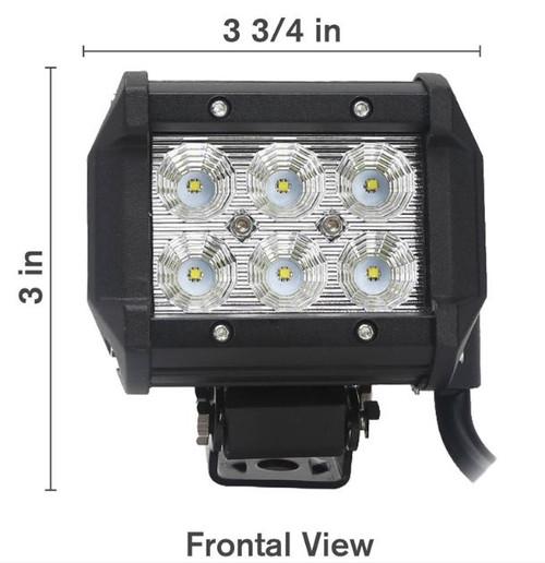 18W LED Flood Light - 2160 Lumens (125 LF1803)