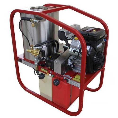 3000PSI Petrol Powered Hot Water Pressure Washer (122 HOT3014P-VE)