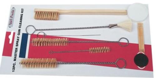 WELLMADE 12 Piece Master Spray Gun Cleaning Kit (W2701)