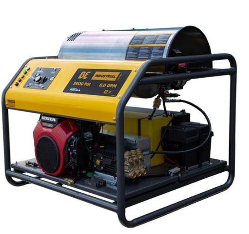 Industrial 3000PSI 30Lt/m Honda Powered Hot Water Pressure Washer (122 HW3024HG12V)