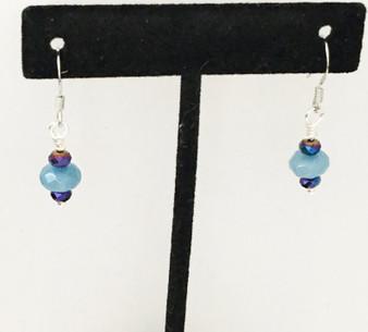 Earrings/ Aquamarine