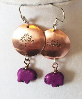 Earrings/ Tree of Life