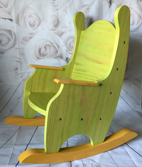 Custom Colors Child's Rocking Chair