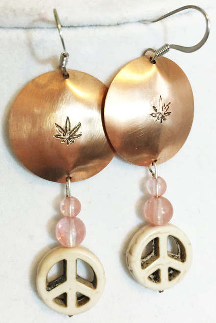 Earrings, Peace and Cannibus