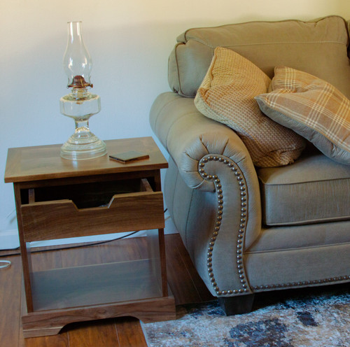 Staged End Table
