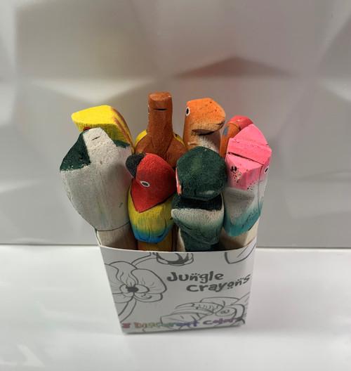 Jungle Animal Fair Trade Crayons
