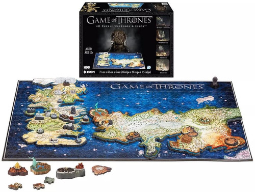 3D Game of Thrones mini puzzle of Westeros