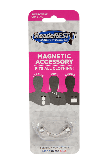 Magnetic eyeglass holder p
