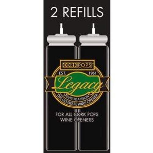 Corkpop refill 2 pack