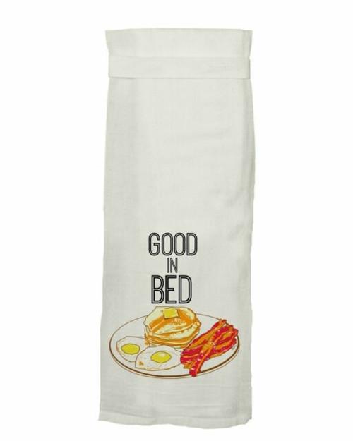 Good in bed towel