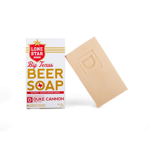 Lone star beer soap