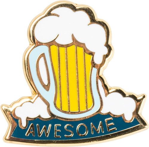 Enamel Pin Beer