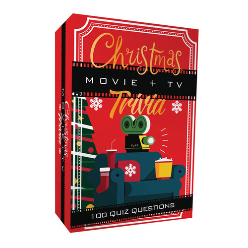 Christmas movie + TV trivia game