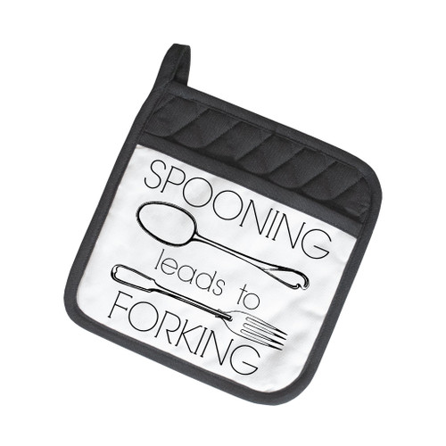 Spooning leads to Forking Pot Holder