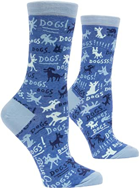 Dogs women's crew socks