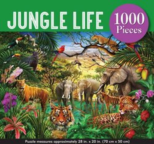 Jungle life puzzle