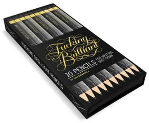 Fucking brilliant 10 pencil set