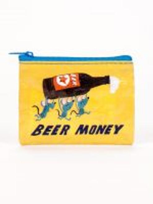 Beer money coin purse