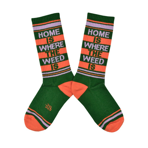 Home is where the weed is socks