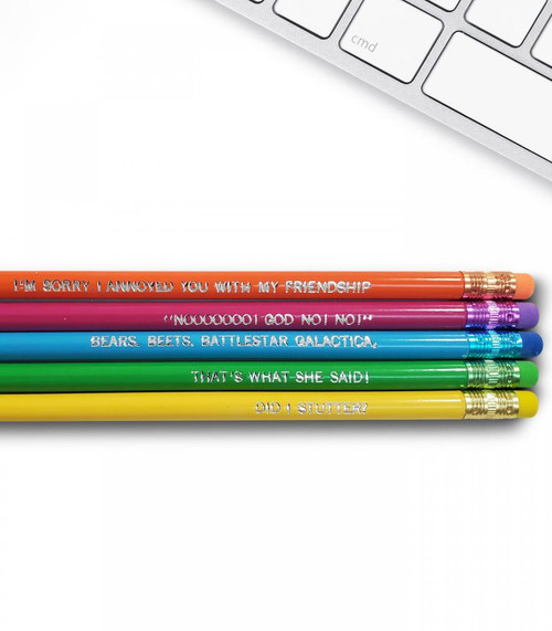 Good point the office pencils