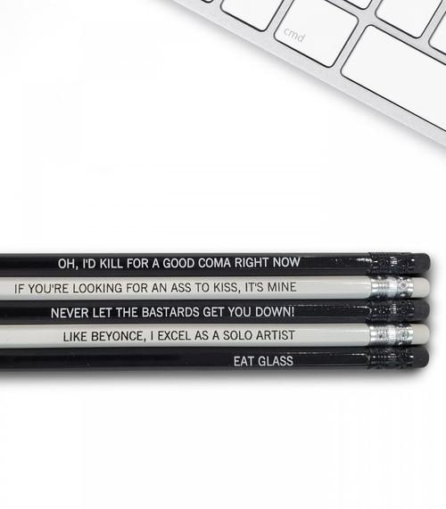 Good point Schitt's Creek pencils