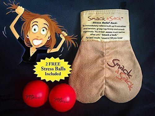 Smack a sack stress relief sack
