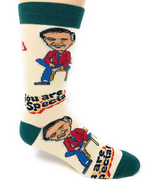 Mr. Rogers you're special large socks