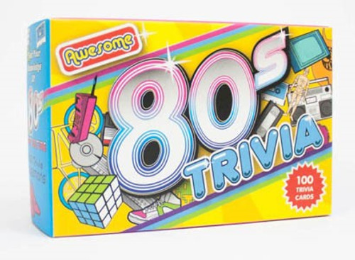 Awesome 80s trivia game