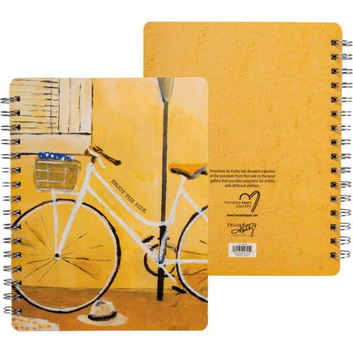 The ride spiral notebook