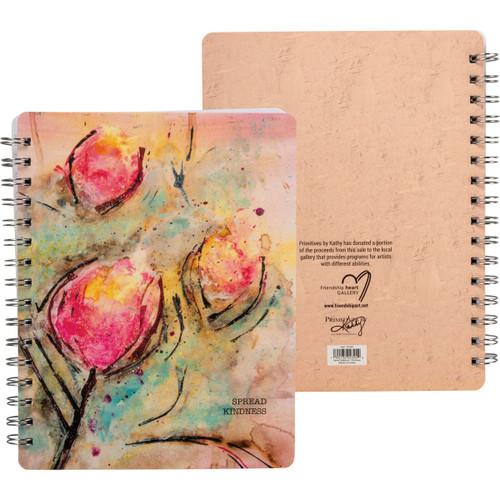 Kindness spiral notebook