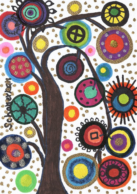 Susan Schanerman art journal