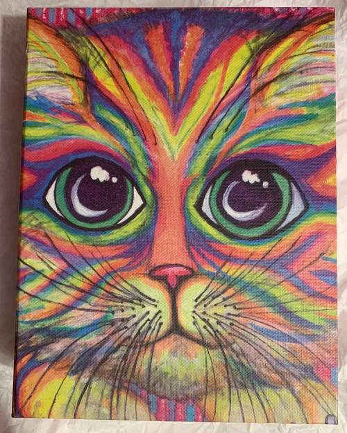 Kitty Zen art card set