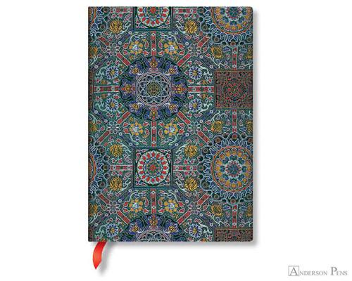 Sacred Tibetan textiles lined journal