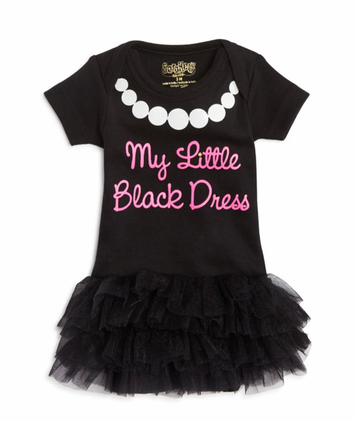 Little black dress and tutu onesie 6 mo