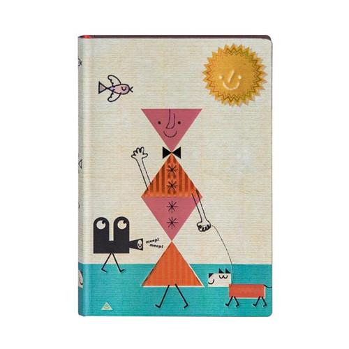 Hound dog mini journal