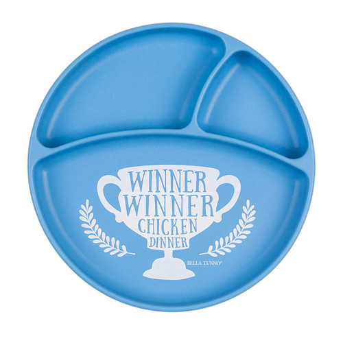 Winner chicken dinner plate