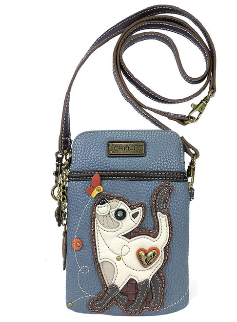 Slim cat cellphone crossbody