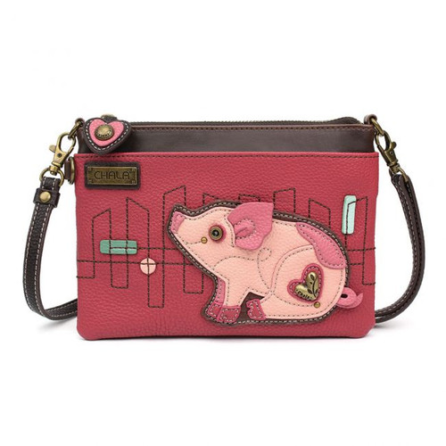Mini Crossbody pig pink