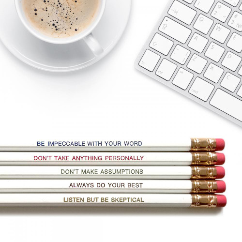 Good point the four agreements pencils