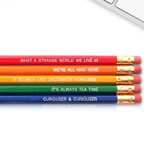 Good point Alice in wonderland pencils