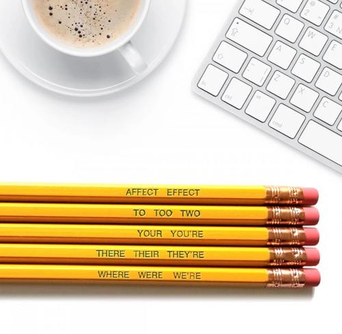 Word nerd good point pencils