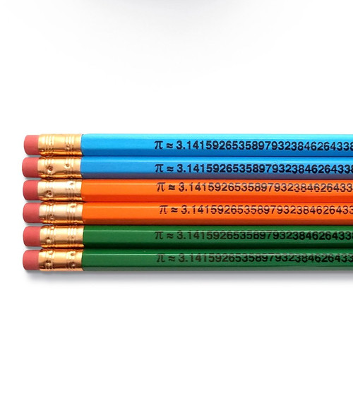 Good point the number pi pencils