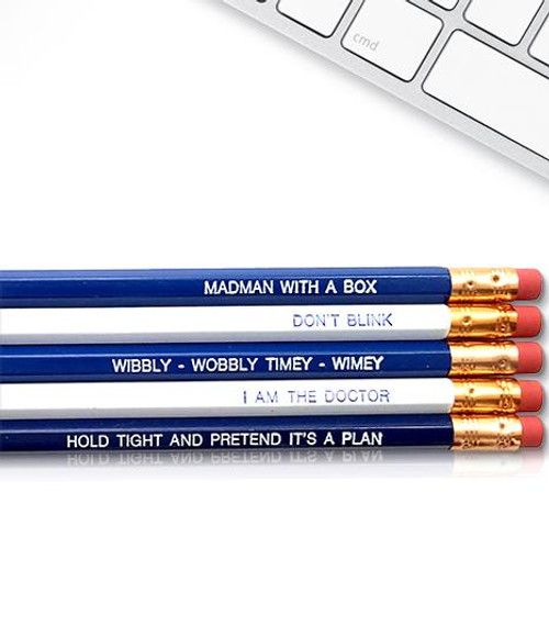 Good point Doctor Who pencils