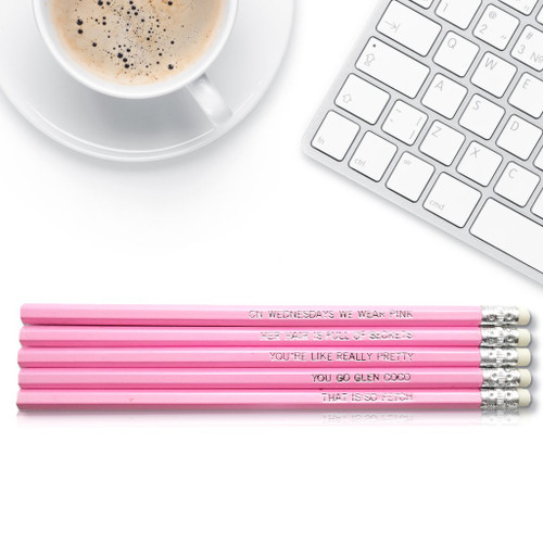 Good point mean girls pencils